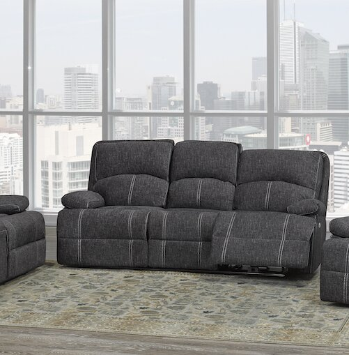 Allistair Reclining Sofa by Red Barrel Studio