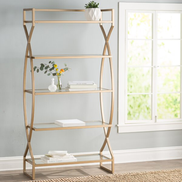 Lowery Etagere Bookcase by Willa Arlo Interiors