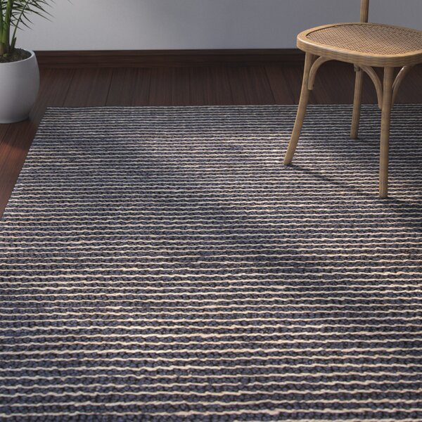 Reynoso Hand-Woven Gray Area Rug by Bay Isle Home