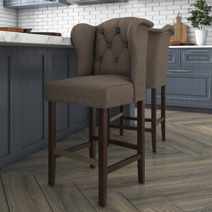 Nailhead Trim Counter Stool Wayfair