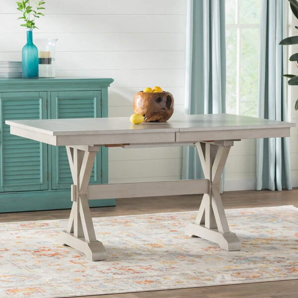 Rutledge Extendable Dining Table by Rosecliff Heights