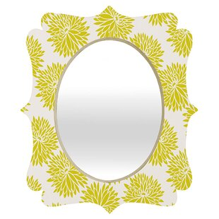 East Urban Home Brousseau High Society Quatrefoil Accent Mirror
