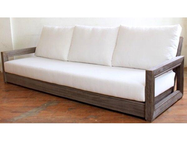 Constance Teak Patio Sofa with Cushions by Brayden Studio Brayden Studio