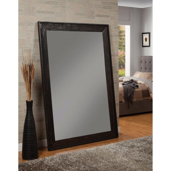 Elwell Distressed Floor Full Length Mirror by 17 Stories
