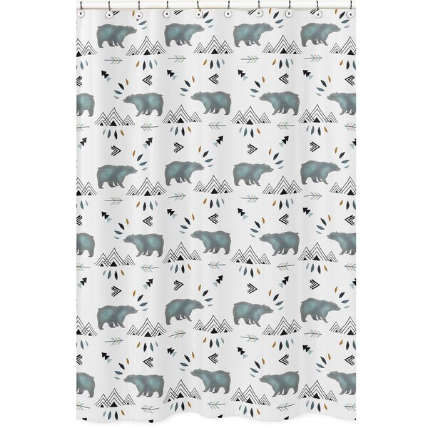 Bear Mountain Shower Curtain by Sweet Jojo Designs