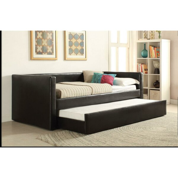 Vem Twin Daybed with Trundle by Latitude Run Latitude Run