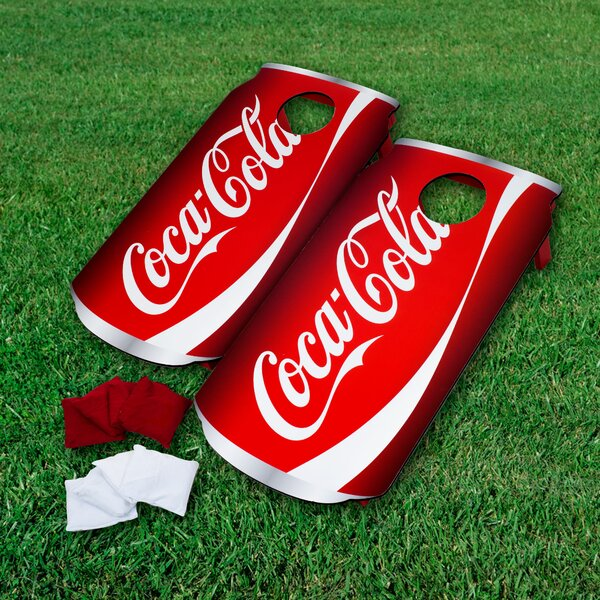 Coca-Cola Can Bean Bag Toss by Trademark Games