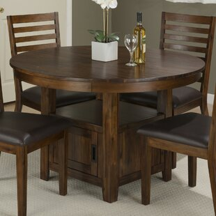 Storage kitchen dining tables youll love wayfair oilton counter height dining table workwithnaturefo