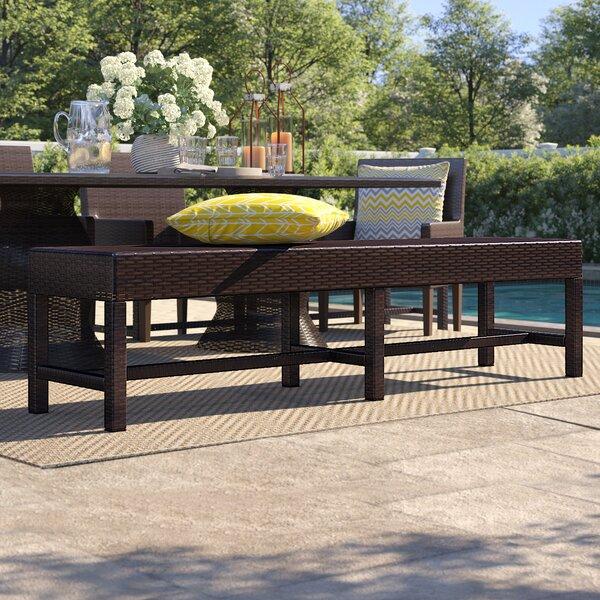 Tegan Aluminium Picnic Bench by Sol 72 Outdoor