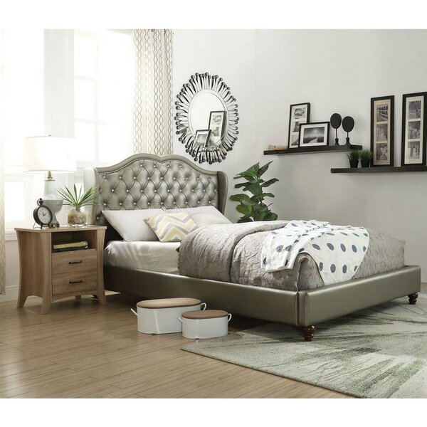 Messmer Queen Upholstered Platform Bed By House Of Hampton Find