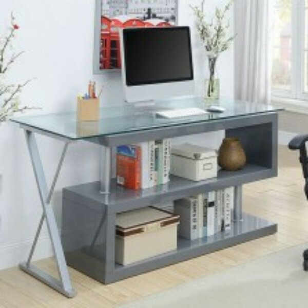 Lindel Solid Wood Executive Desk