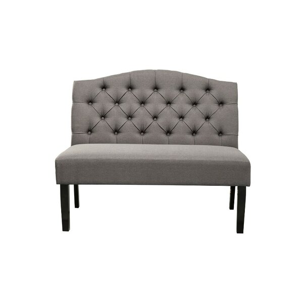 Darley Button Tufted Back Upholstered Bench by Darby Home Co