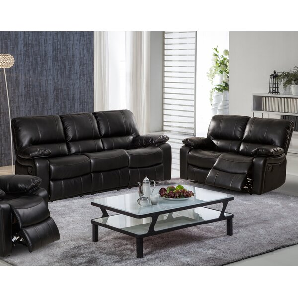 Layla Reclining 2 Piece Living Room Set by Living In Style