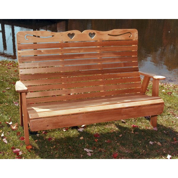 Cedar Benches Garden Bench by Creekvine Designs