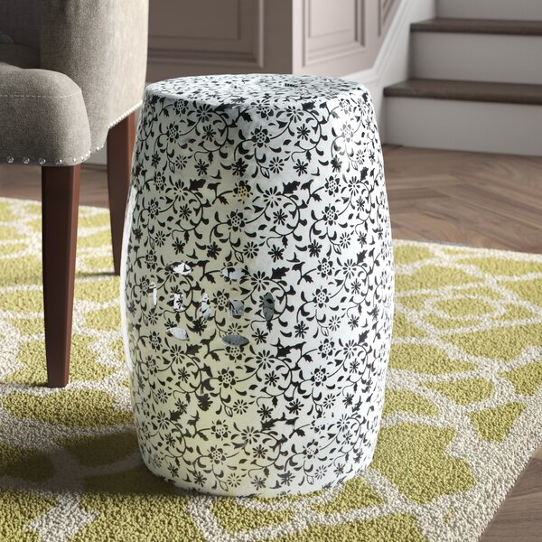 Ceramic Garden Stool by Safavieh