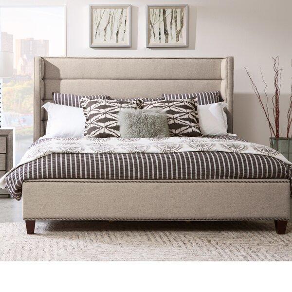 Heyman Channeled Upholstered Standard Bed by Rosdorf Park