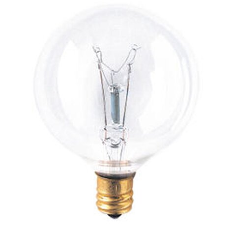 Candelabra 15W 130-Volt (2400K) Incandescent Light Bulb (Set of 43) by Bulbrite Industries