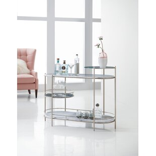 Melange Rooney Bar Cart