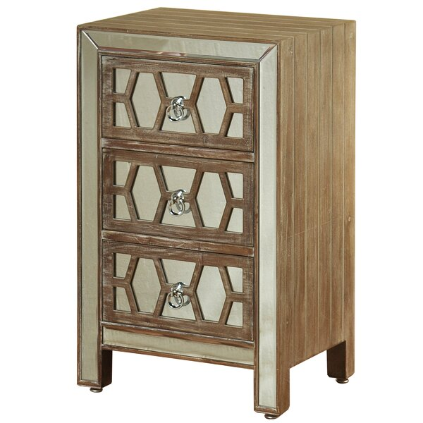 Darcy 3 Drawer Chest by Wrought Studio