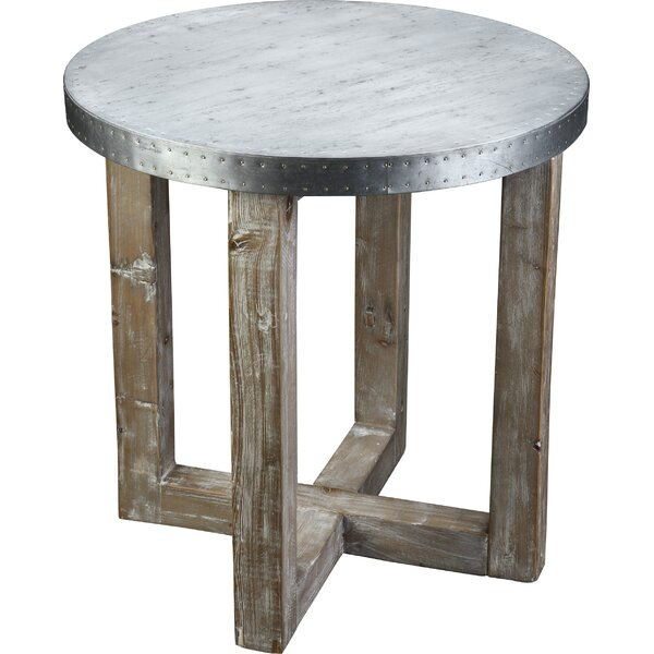Apostolou End Table by Union Rustic