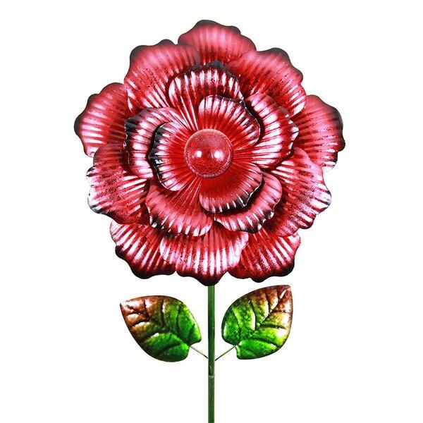 Solar Garden Bloom Stake by Exhart
