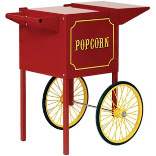 Theater Pop and 1911 Popcorn Machine Cart by Paragon International