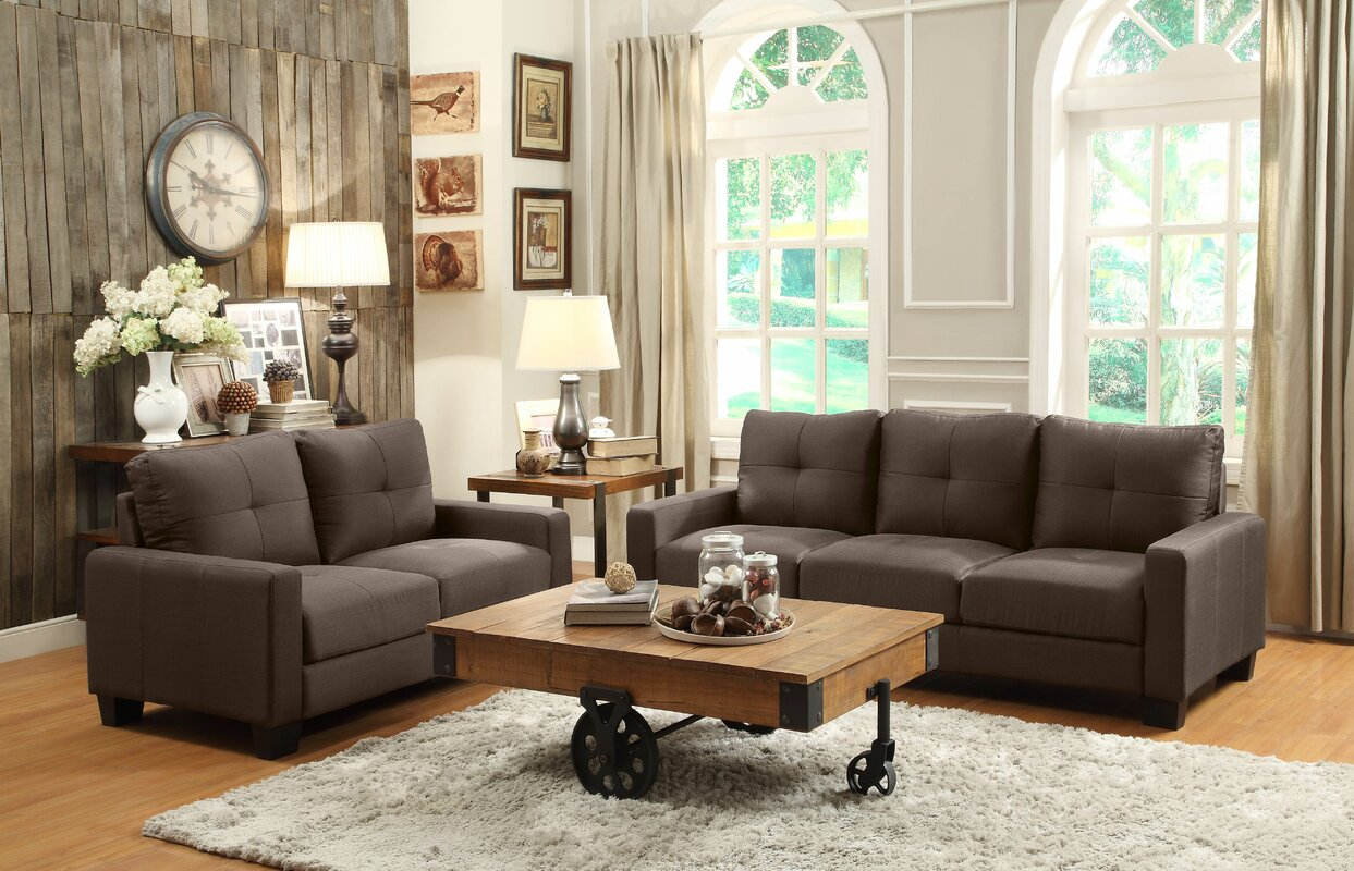 Woodhaven hill ramsey configurable living room set for Living room sets under 800
