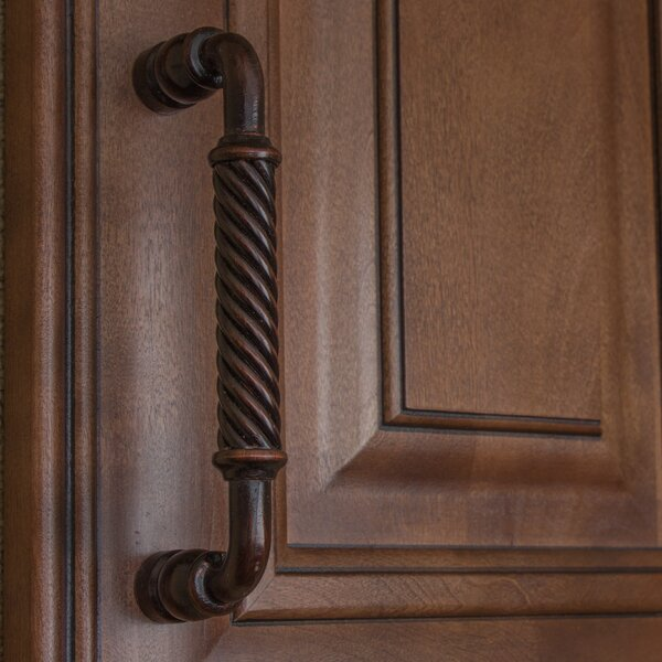Twisted Steel 5 Dresser Drawer Pull by GlideRite Hardware