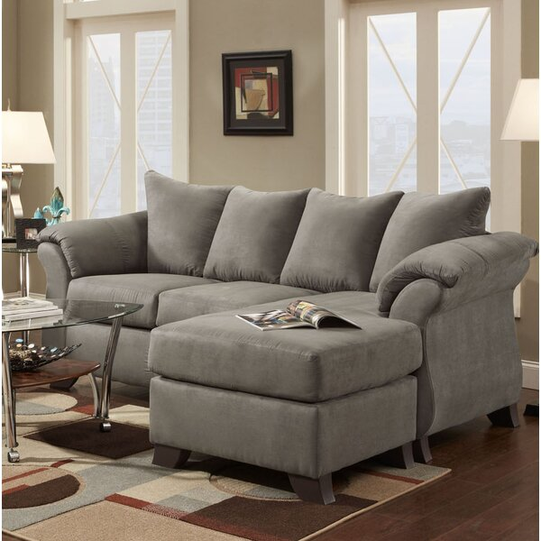 Homerville Reversible Sectional with Ottoman by Charlton Home