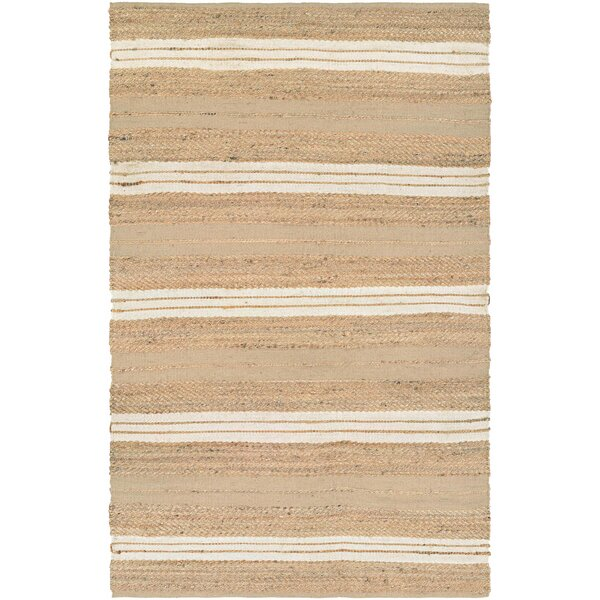 Fairfax Hand-Loomed Ivory Area Rug by Beachcrest Home
