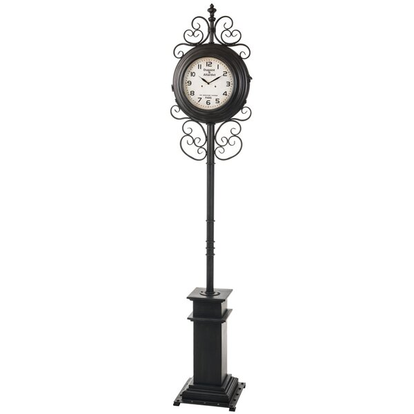 Metal 84 Floor Clock by Darby Home Co