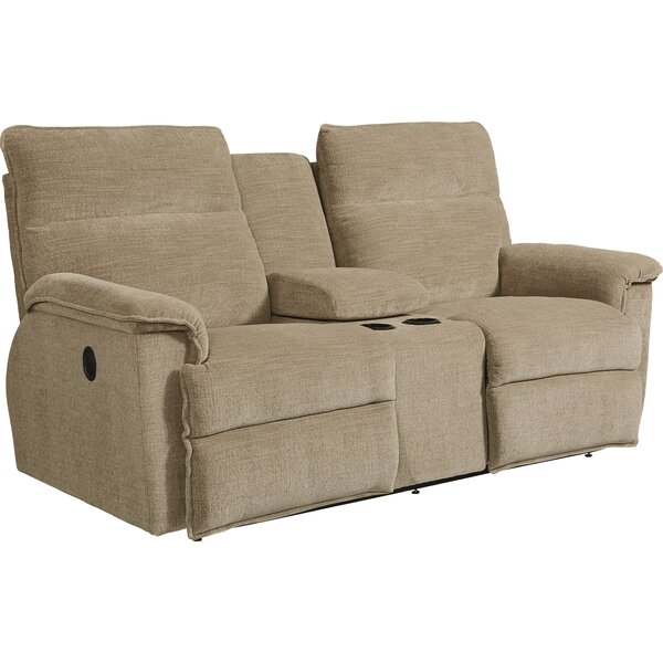 Jay La-Z-Time® Reclining 78.5 Inches Pillow Top Arms Loveseat By La-Z-Boy