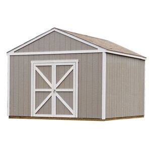 Premier Series 12 ft. 6 in. W x 12 ft. 3 in. D Wooden Storage Shed