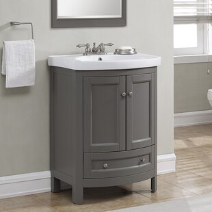 Brook Hollow 24.6 Single Bathroom Vanity Set By Charlton Home