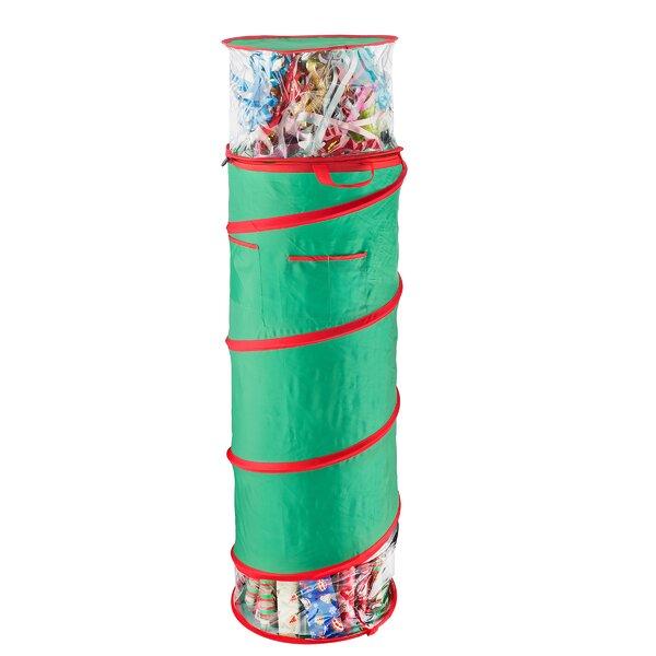 Pop Up Gift Wrap Storage Bag by Rebrilliant