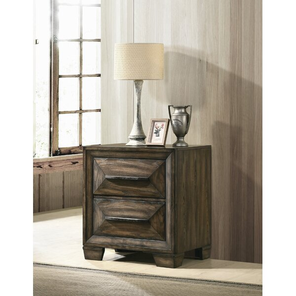 Winegar 2 Drawer Nightstand by Foundry Select