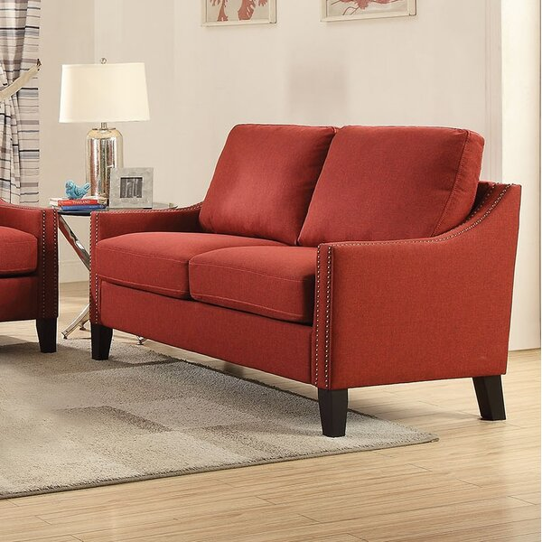 Brand New Bracken Loveseat by Alcott Hill by Alcott Hill