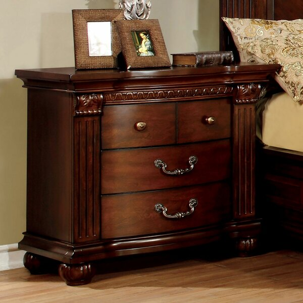 Lula 4 Drawer Nightstand by Astoria Grand