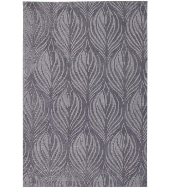 Rhames Hand-Tufted Slate Area Rug by Mercer41