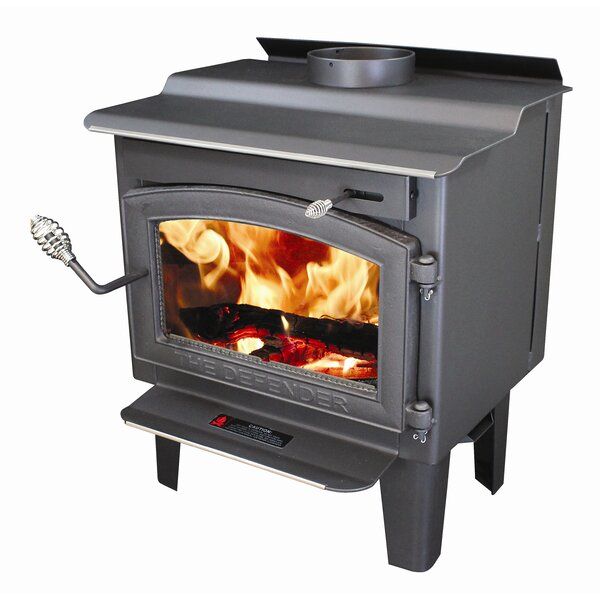 Defender 1,200 sq. ft. Direct Vent Wood Stove by Vogelzang