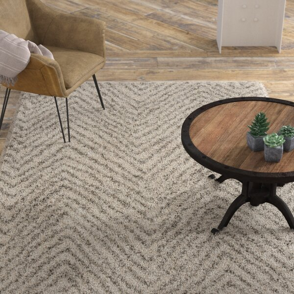 Cammie Ivory/Gray Area Rug by Williston Forge