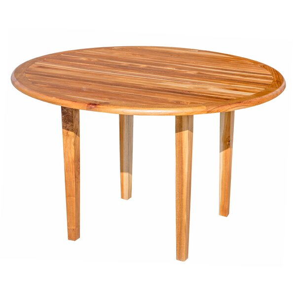 Oasis Teak Solid Wood Dining Table by EcoDecors