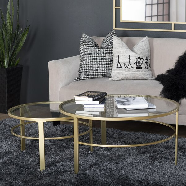 Sarcoxie 2 Piece Nesting Table by Brayden Studio