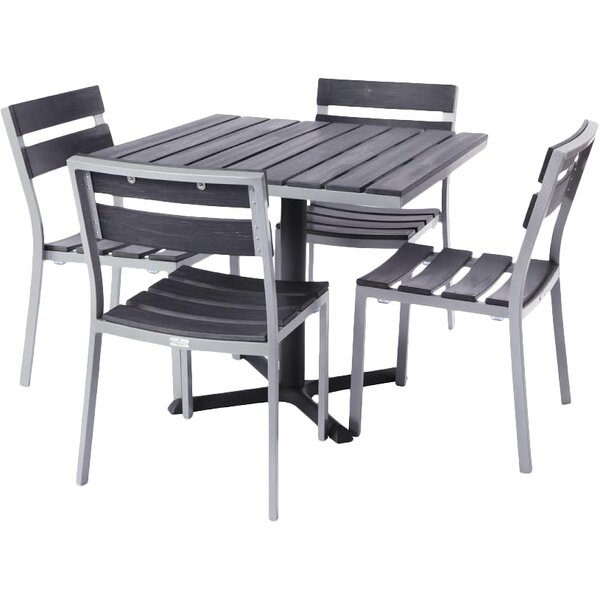 Milloy 5 Piece Dining Set by Madbury Road
