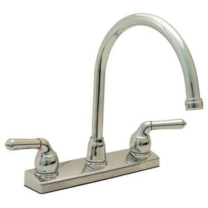 ProPlus Double Handle Deck Mounted Kitchen Faucet