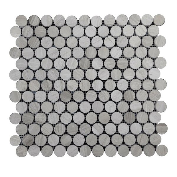 Honed Natural Stone Mosaic Tile in Gray by QDI Surfaces