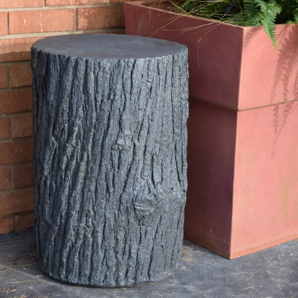 Walnut Creek Tree Stump Side Table by Loon Peak