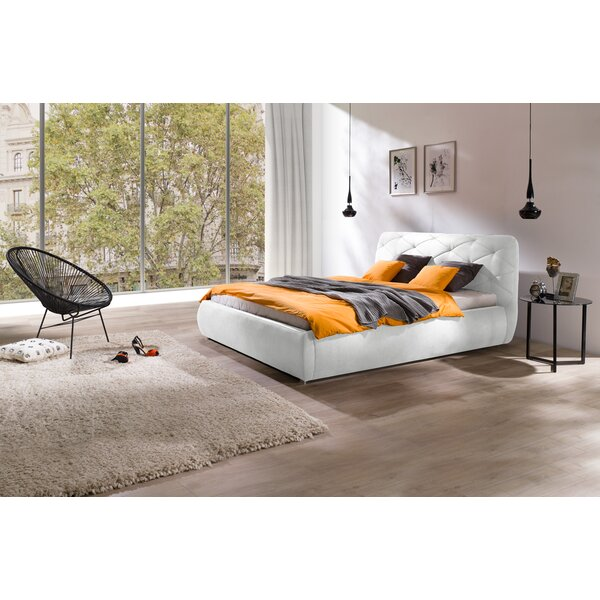 Bonsai Modern Queen Upholstered Storage Platform Bed by Orren Ellis