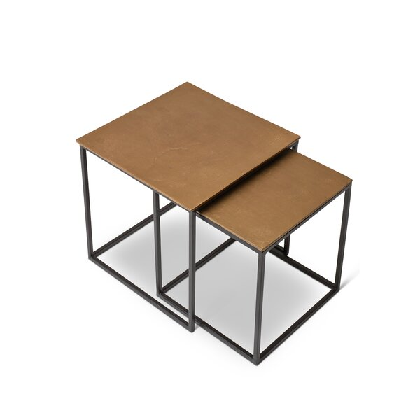 Rhodes 2 Piece Nesting Tables by Williston Forge