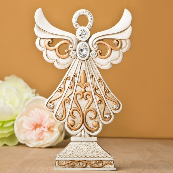 Vintage Design Angel Center Piece and Cake Topper by Fashion Craft